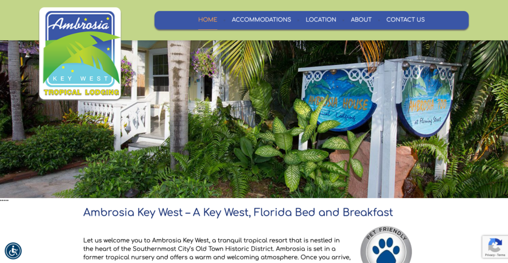 Ambrosia Key West Bed and Breakfast